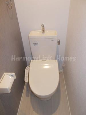 Links 五反野のトイレです
