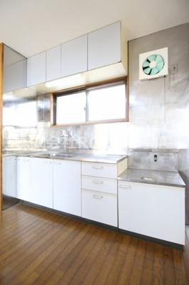 【キッチン】ラインマンション1