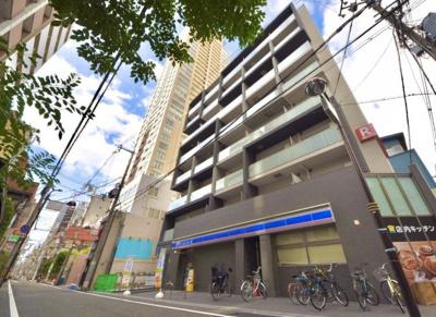心斎橋駅迄徒歩8分 ネット使用料不要 セキュリティに優れた設備充実デザイナーズマンション