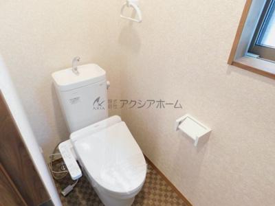 【トイレ】狭山市東三ツ木・全1棟 新築一戸建 ~南西角地~