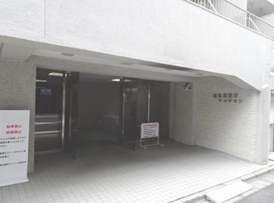 【エントランス】湯島武蔵野マンション