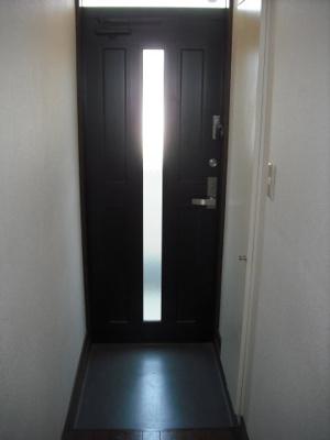 内廊下が有り直接お部屋が見えません!
