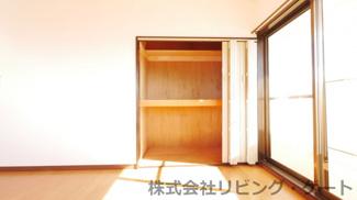 2階洋室8.5帖のクローゼット