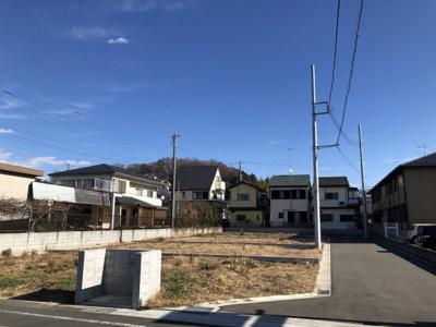 【前面道路含む現地写真】上今泉開発分譲地