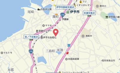 【地図】山陽ハイツ
