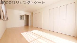2階12.5帖の洋室 大型クローゼット×2+ウォークインクローゼット付き