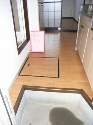 1階は床下収納付き