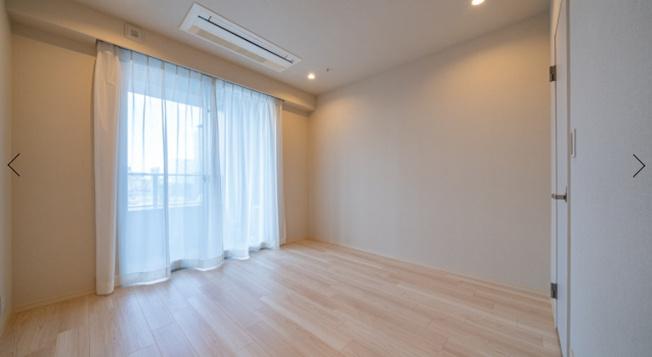 クレストプライムタワー芝:各居室収納付き!リビングダイニングキッチンと洋室①にはエアコンが付いています!