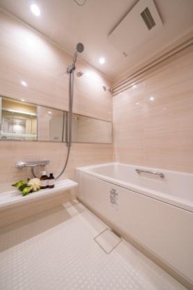 クレストプライムタワー芝:浴室乾燥機&追焚機能付き浴室です!