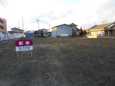 高崎市貝沢町売地 ①