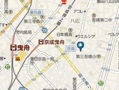【地図】Heim-MY DREAM HOUSE(ハイムーマイ ドリーム ハウス)