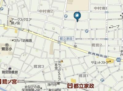 【地図】TEN-NOM HOUSE DELUXE(テノムハウス デラックス)