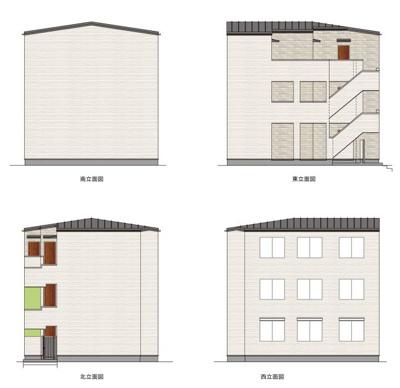 【外観パース】TEN-NOM HOUSE DELUXE(テノムハウス デラックス)