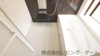 1.25坪の広々バスルーム