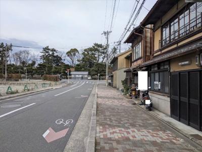 【前面道路含む現地写真】京都市中京区門前町