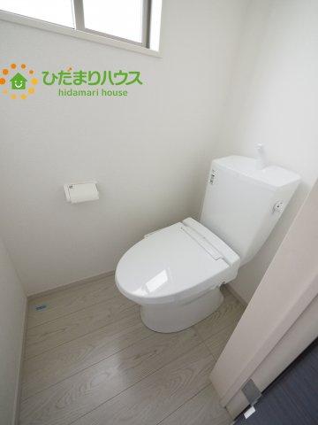 温水洗浄便座のトイレを完備しております。