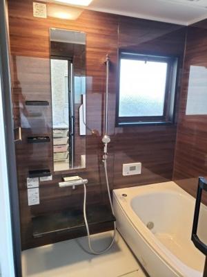 【浴室】鳥取市気高町下坂本借家