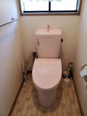 【トイレ】鳥取市気高町下坂本借家