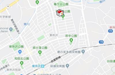 【地図】レオパレス寿(21879-208)