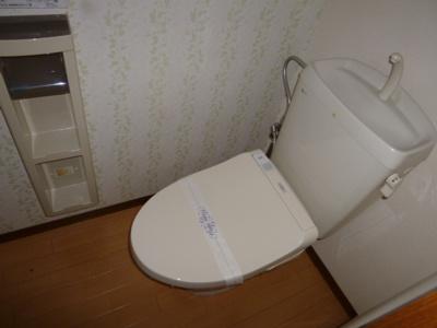 シャワー付きトイレではありません