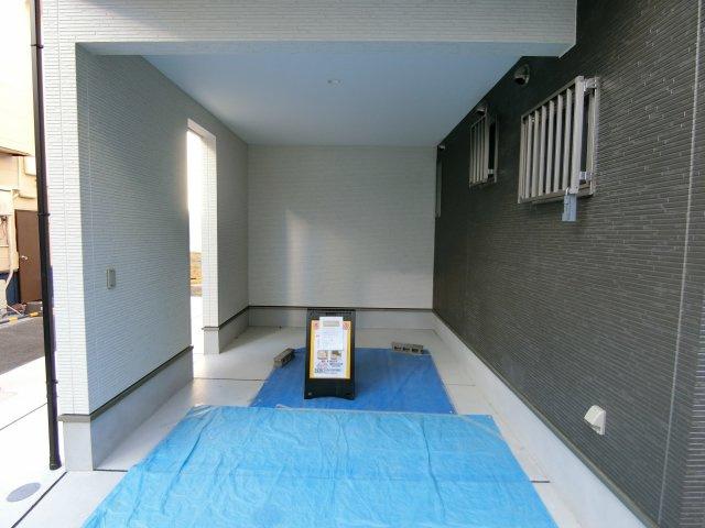 【駐車場】東成区中本1丁目 新築戸建