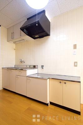 【キッチン】C.H稲田マンション平岡1号棟