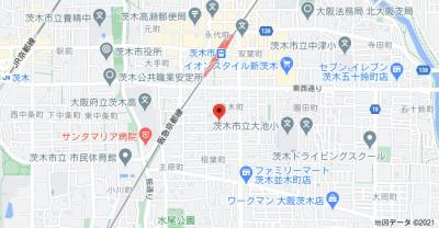 【地図】稲葉タウンハウス