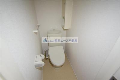 【トイレ】メゾンソレイユ
