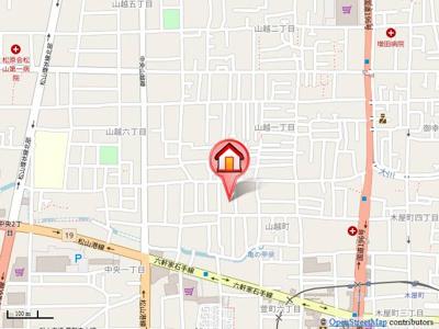 【地図】K.Yフラット