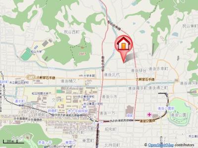 【地図】マリンパレットⅢ