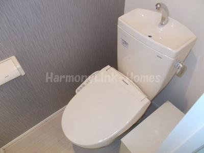 ハーモニーテラス根岸のコンパクトで使いやすいトイレです☆