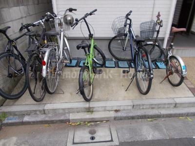 ハーモニーテラス根岸の駐輪スペース☆