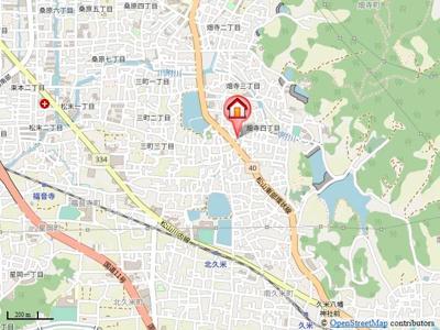 【地図】畑寺朝山ハウス・