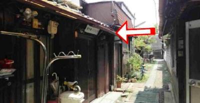 【外観】南区東寺町 中古テラスハウス