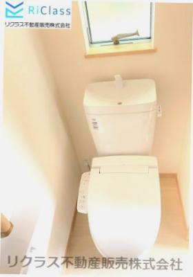 ゆったりとした空間のトイレです‼