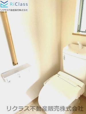 充実な仕様のあるトイレです‼
