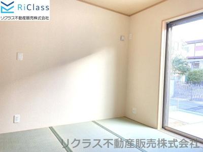 和室がひろがる居住スペース‼