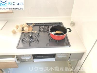 キッチンでお料理をお楽しみください‼