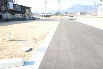 【前面道路含む現地写真】東広島市黒瀬町市飯田字新屋田