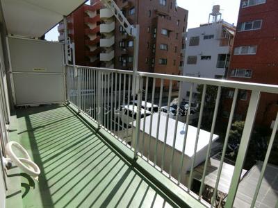 【バルコニー】恒陽千石マンションB棟 3階 64.01㎡ リ ノベーション済
