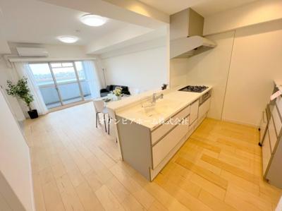【キッチン】恒陽千石マンションB棟 3階 64.01㎡ リ ノベーション済