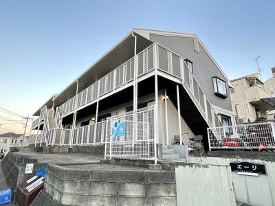 小田急線「読売ランド前」駅より徒歩9分の2階建てアパート!公園が近くて小さいお子様がいるファミリーさんにもおすすめです♪