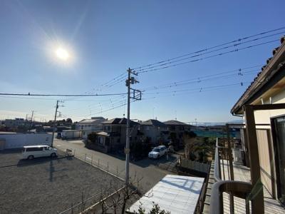 【展望】【売地】藤沢市宮原 建築条件なし売地