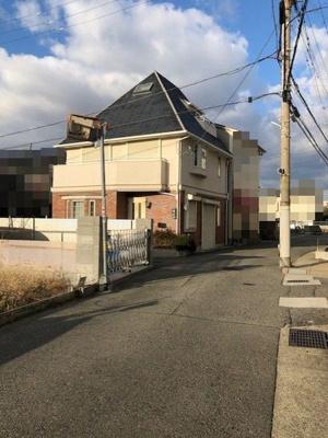 【前面道路含む現地写真】神戸市垂水区山手7丁目 中古戸建