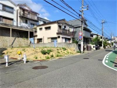【前面道路含む現地写真】◆■神戸市垂水区西舞子4丁目 土地