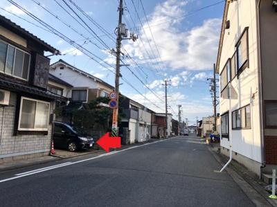 【前面道路含む現地写真】鳥取市寿町土地