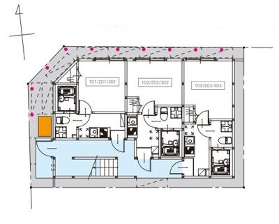 【区画図】I-villa六町(アイヴィラロクチョウ)