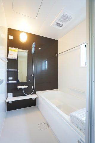 浴室乾燥機付きでお風呂場のカビ防止!