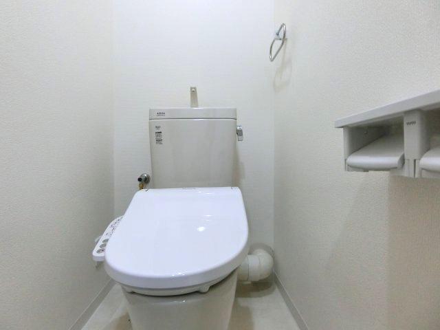 トイレも新調済です(^^)/