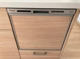 キッチンには食器洗浄機を設置